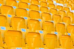 Sièges de stade/arène Photo libre de droits