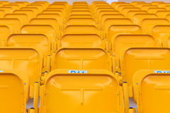 Sièges de stade/arène Photo stock