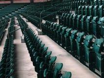 Sièges de stade de base-ball image libre de droits