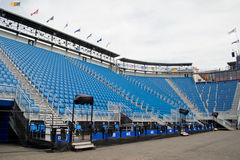 Sièges de stade en Ecosse Image stock