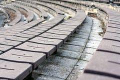 Sièges de Stadion Photo libre de droits