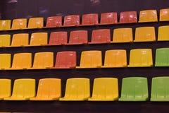Sièges multicolores Image stock