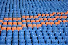 Sièges olympiques de tribune Images stock