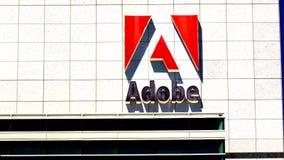 Sièges sociaux d'Adobe Systems dans Silicon Valley clips vidéos