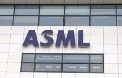 Sièges sociaux d'ASML dans Veldhoven images libres de droits