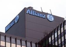 Sièges sociaux d'assurance d'Allianz à Rotterdam photographie stock