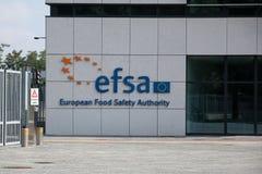 Sièges sociaux d'Efsa Photos stock