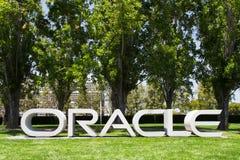 Sièges sociaux d'entreprise d'Oracle Photographie stock