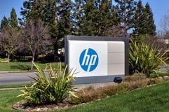 Sièges sociaux d'entreprise de Hewlett-Packard Photos stock