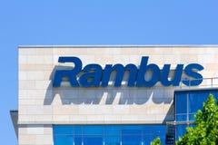 Sièges sociaux d'entreprise de Rambus Images stock