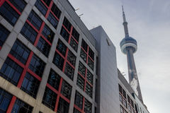 Sièges sociaux d'Ontario du CBC de la Société Radio-Canada Photographie stock