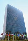 Sièges sociaux d'ONU à New York Photos stock
