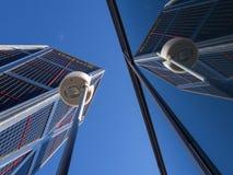 Sièges sociaux de Bankia dans les tours de KIO Photographie stock