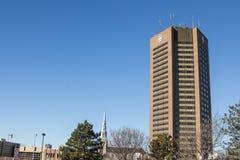 Sièges sociaux de CBC de la Société Radio-Canada pour le Québec à Montréal Photos stock