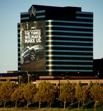 Sièges sociaux de Chrysler Photo libre de droits