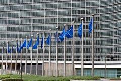 Sièges sociaux de Commission européenne Images libres de droits