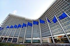 Sièges sociaux de Commission européenne Image stock
