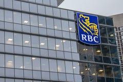 Sièges sociaux de la banque de RBC à Toronto Photos stock