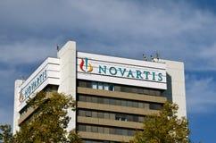 Sièges sociaux de Novartis à Bâle, Suisse Images libres de droits