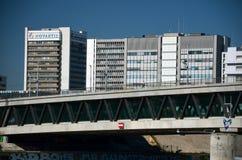 Sièges sociaux de Novartis à Bâle, Suisse Image libre de droits