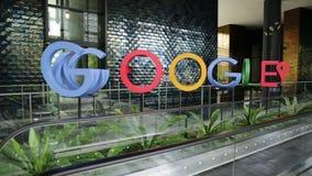 Sièges sociaux de Singapour Google banque de vidéos