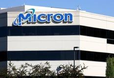Sièges sociaux de technologie de micron Images libres de droits