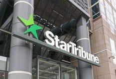 Sièges sociaux et logo de StarTribune Images libres de droits