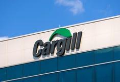 Sièges sociaux et signe d'entreprise de Cargill Image libre de droits