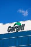 Sièges sociaux et signe d'entreprise de Cargill Photos stock