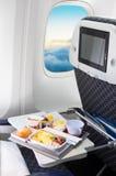 Sièges vides dans un avion moderne photo stock