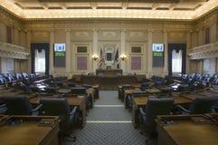 Sièges vides de la chambre des représentants la chambre Image stock