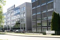 Siégez Gerry Weber, industrie textile, Halle, Allemagne Photographie stock