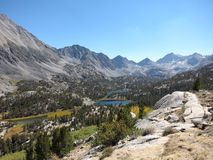 Siërra bergen, Californië royalty-vrije stock afbeelding