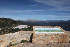 Siërra de bergen van Bermeja, Spanje Royalty-vrije Stock Afbeeldingen