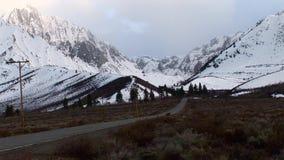 Siërra Sneeuw Mount Whitney 2 stock footage