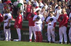 Siódmego inningu rozciągliwość obrazy stock