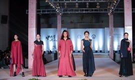 Siódmy serii mody przedstawienie Zdjęcia Royalty Free