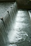 się kaskadą wody Zdjęcia Royalty Free