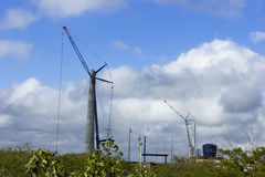 Siła wiatru w rio grande robi Norte, Brazylia obrazy royalty free