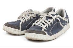 siłownia odizolowane obuwia sport butów obraz stock