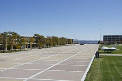 Siły Powietrzne akademii kampus obrazy royalty free