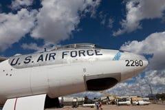 Siły powietrzne samolot zdjęcia royalty free