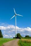 Siły Wiatru turbina Obraz Royalty Free