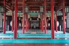 Si 4月2015年-济南,中国-清镇清真寺在济南 图库摄影