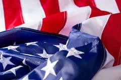 Κυματίζοντας αμερικανική σημαία στοκ φωτογραφία με δικαίωμα ελεύθερης χρήσης