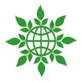 γήινο πράσινο σημάδι έννοια&si Στοκ Φωτογραφία