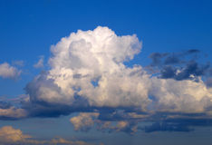 si apanna il cielo Fotografia Stock