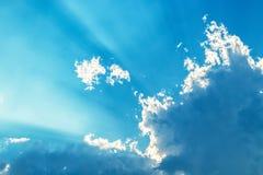 Si apanna il cielo blu Fotografia Stock Libera da Diritti
