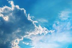 Si apanna il cielo blu Immagine Stock