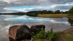 Si appanna il lago Fotografie Stock Libere da Diritti